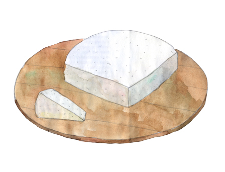 Barrel Aged Feta illustration