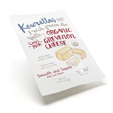 Cow's Milk Grevenon Cheese