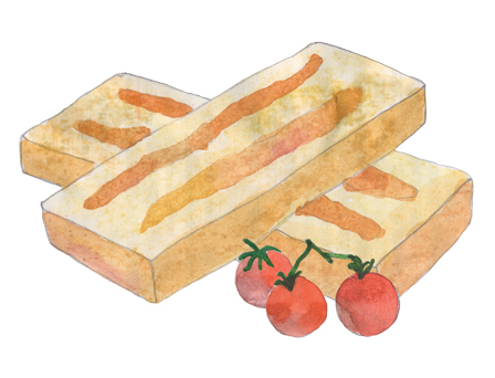 Grill & Eat Appetizer illustration