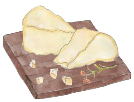Low Fat Cow's Milk Graviera illustration