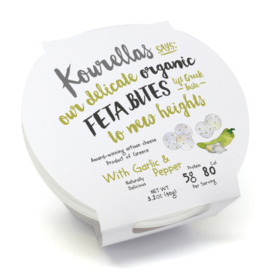 Garlic & Peppers Feta Bites
