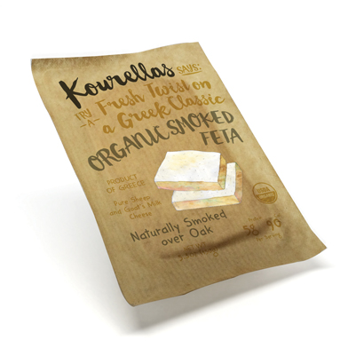 Smoked Cheese from Feta