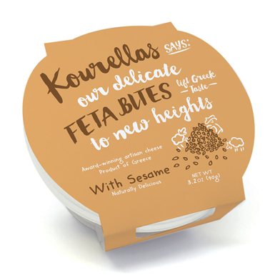 Sesame Feta Bites