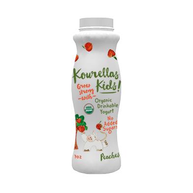 Drinkable Yogurt Peaches