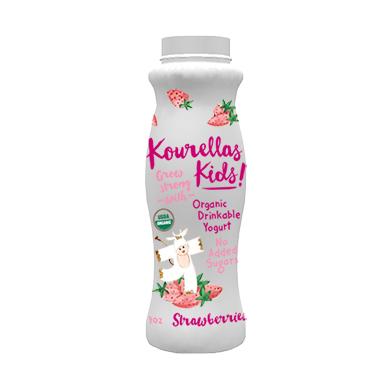 Drinkable Yogurt Strawberries
